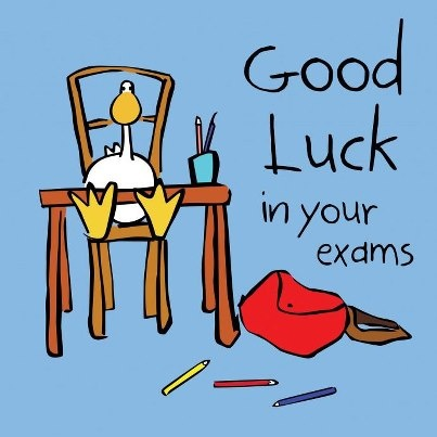 Luck clipart kid exam Exams Exam Pinterest on best