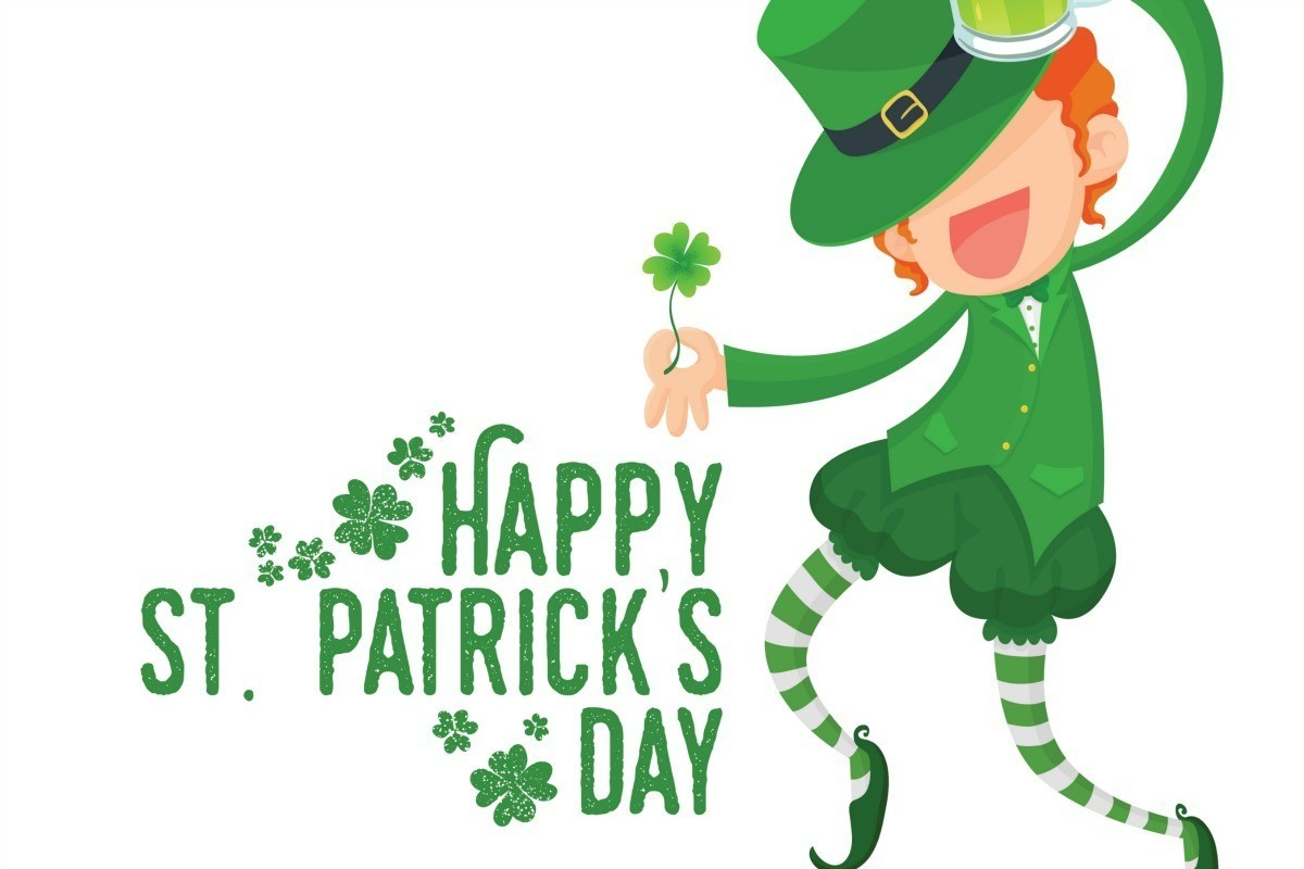 Luck clipart st patricks day Sentinel St Lucky freebies dining