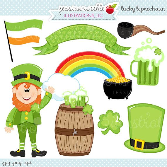 Luck clipart st patricks day Graphics OK Leprechaun Cute Pinterest