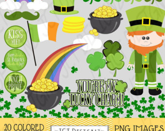 Luck clipart st patricks day Lucky Lucky Patricks Day Etsy