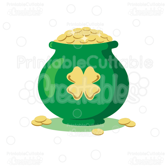 Luck clipart st patricks day Clipart Day Pot of Cut