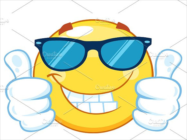 Luck clipart thumbs up smiley Free Up EPS Download PSD
