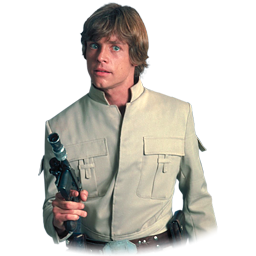 Luke Skywalker clipart drawing 3 Format: PNG IconBug Icon