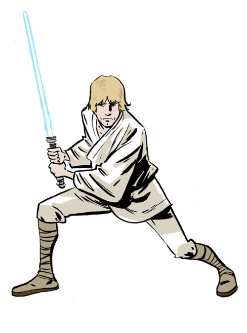 Luke Skywalker clipart tatooine Art Luke – Luke Art