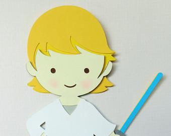 Luke Skywalker clipart baby  Wars Scrapbook Star (5
