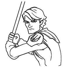 Luke Skywalker clipart coloring page Printable Wars 25 Top Skywalker