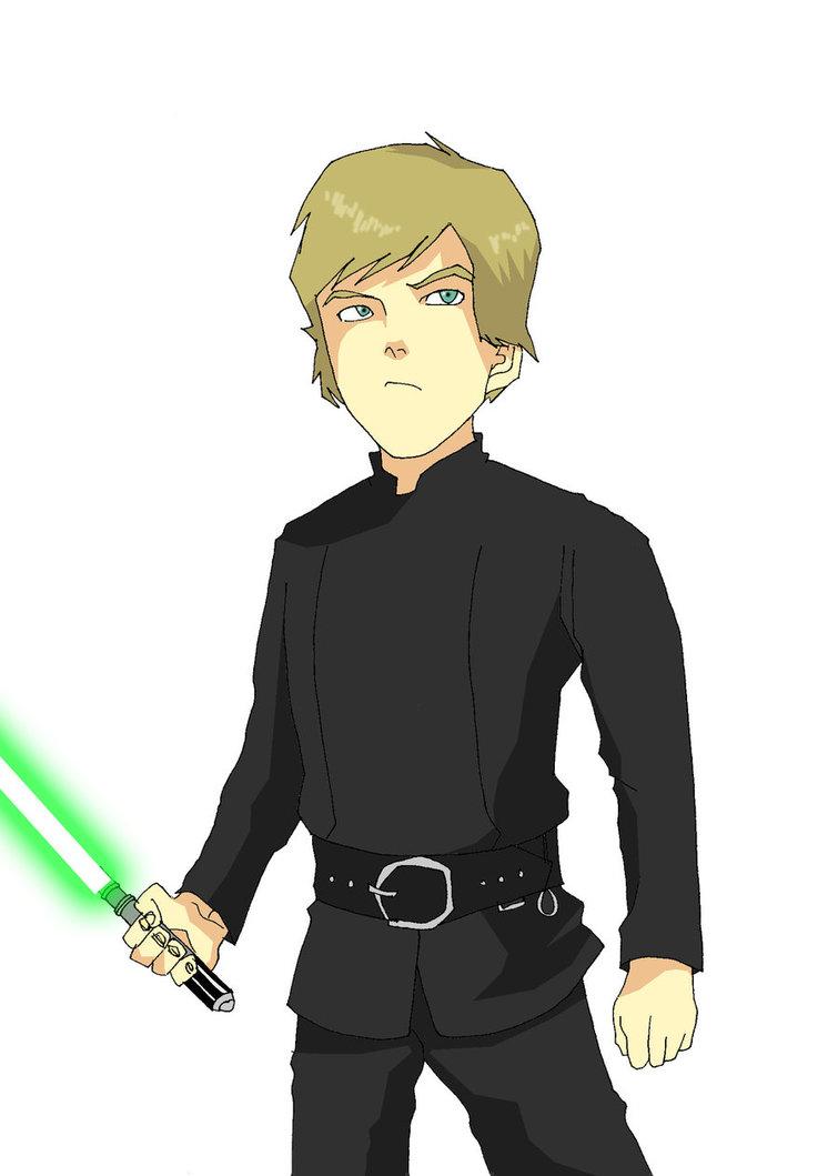 Luke Skywalker clipart drawing Star Star Luke DeviantArt TheFresco
