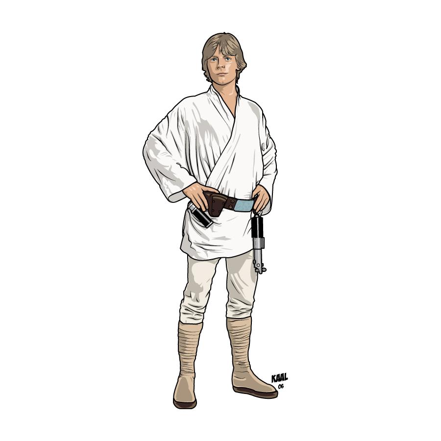 Luke Skywalker clipart drawing Jhyy  Skywalker DeviantArt on