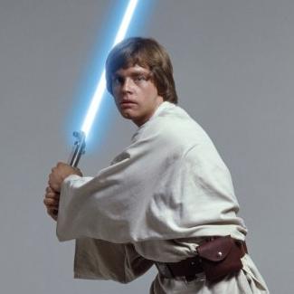 Luke Skywalker clipart episode iv (and Five star Star See