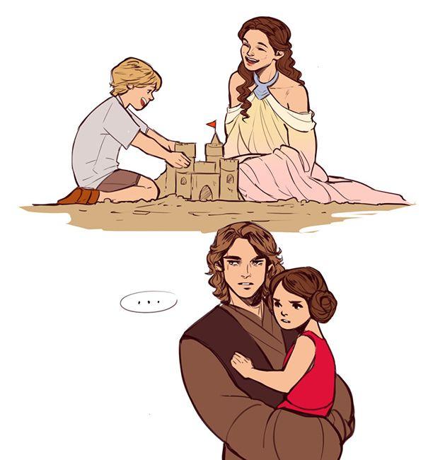 Luke Skywalker clipart i love Original Who 20+ Padmè but