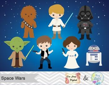 Luke Skywalker clipart princess leia Leia  Solo Digital Han
