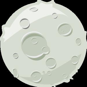 Lunar clipart bedtime Clip at Clker Art Moon