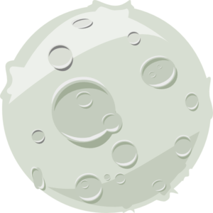 Lunar clipart ground Clker at  Moon Clip