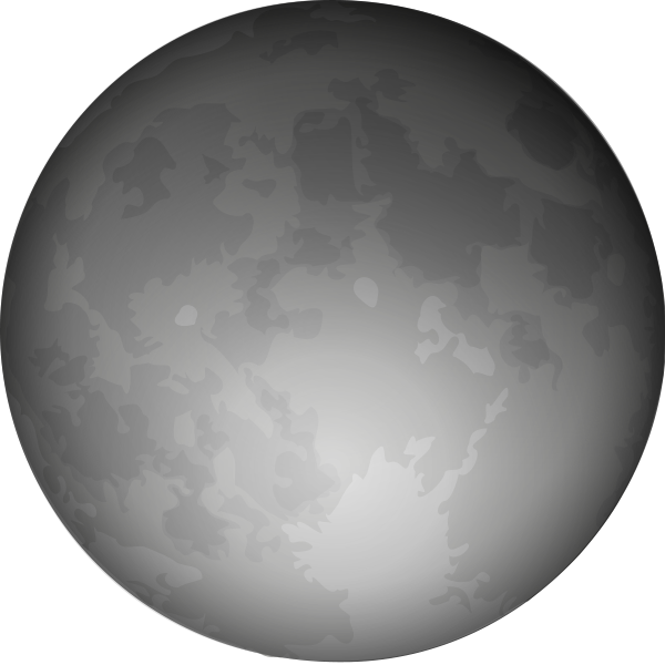 Haunted clipart moon #15