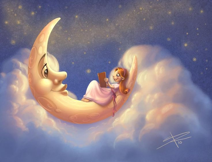 Lunar clipart bedtime Images on Sabinerich on by