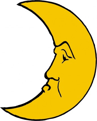 Free clipart 68 Moon Free