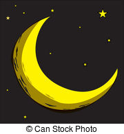 Lunar clipart celestial Illustrations Celestial bodies collection and
