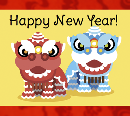 Lunar clipart disney Dragon Year Cards Free New