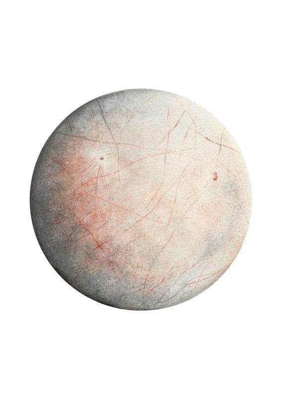 Lunar clipart europa Planet Europa art lunar art