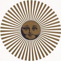 Moon clipart fornasetti Fornasetti Sun round soleil ❤
