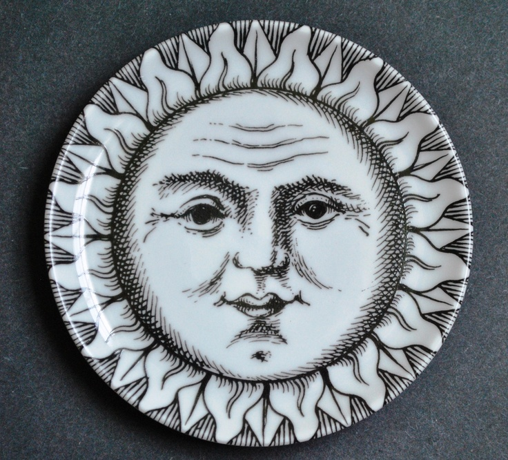 Moon clipart fornasetti The  images Pinterest on