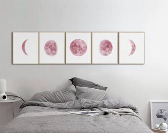 Lunar clipart frame Moon Lunar Art Clip Prints