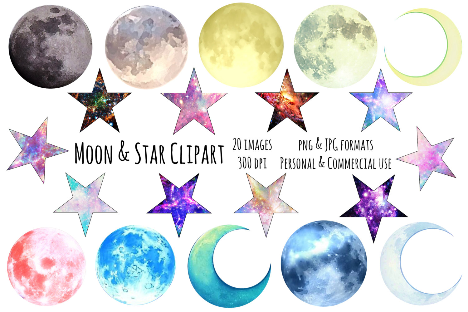 Moon clipart space #10