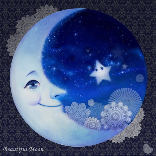 Lunar clipart goodnight moon This more and moon night