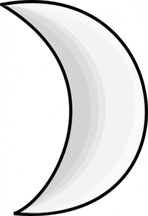 White clipart moonblack Art #4166 moons graphics image