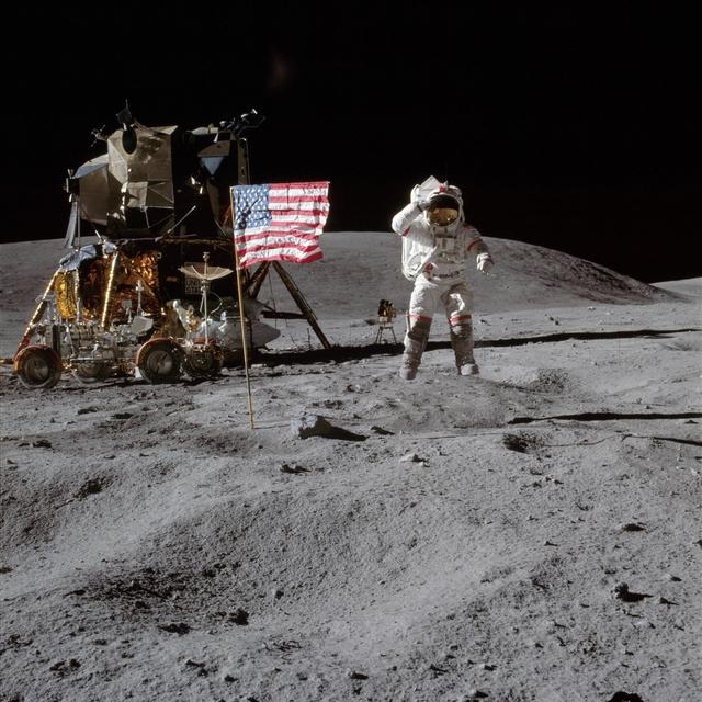 Lunar clipart ground Moon the John Man on