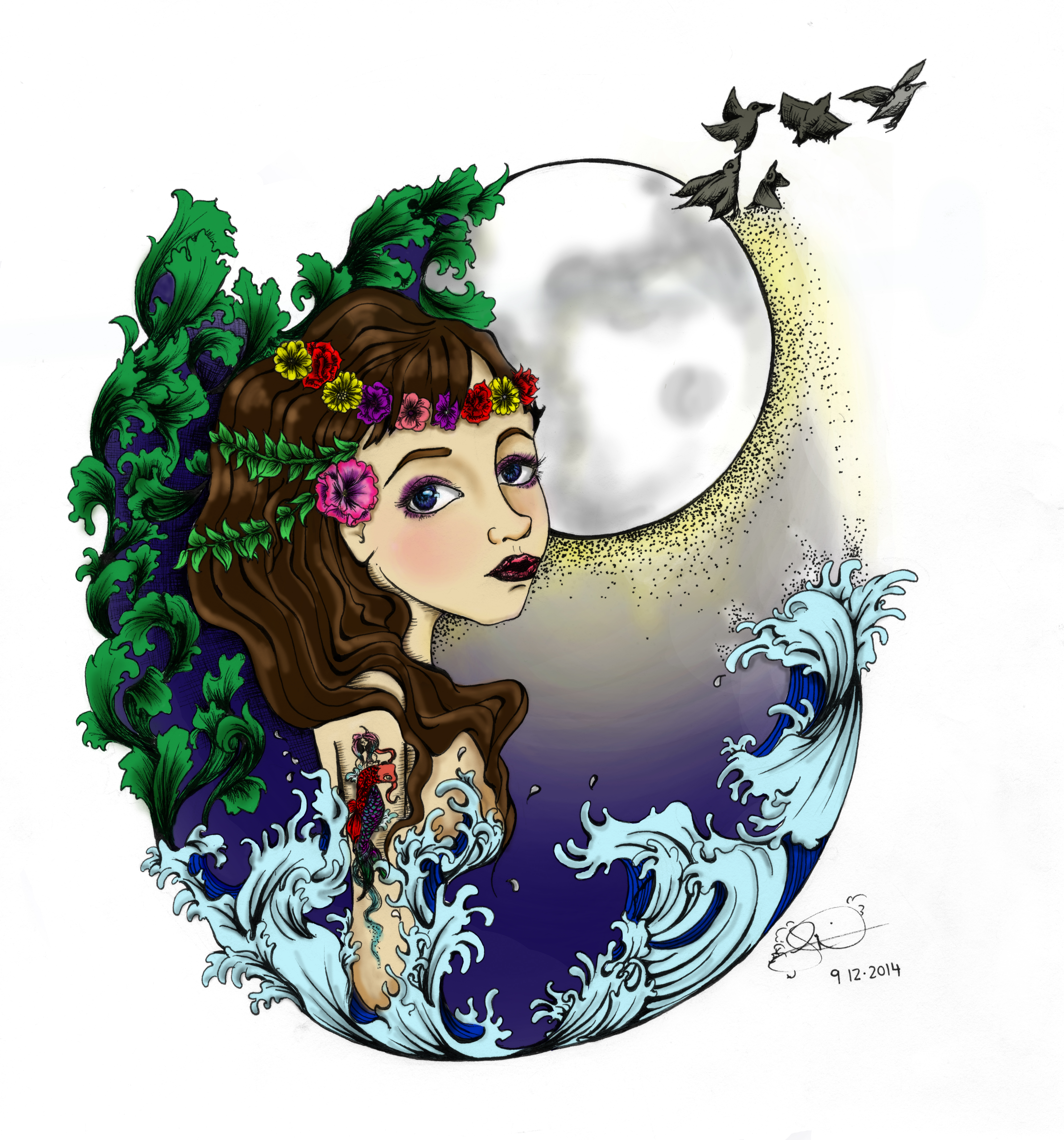 Lunar clipart harvest moon Wisdom « Wild Moon Lammas