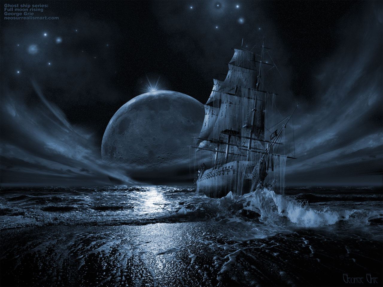 Ghostly clipart real Art Pirate Photos Ship online