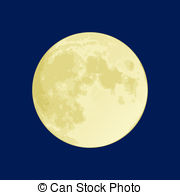 Moon clipart round Blue clipart full dark Images