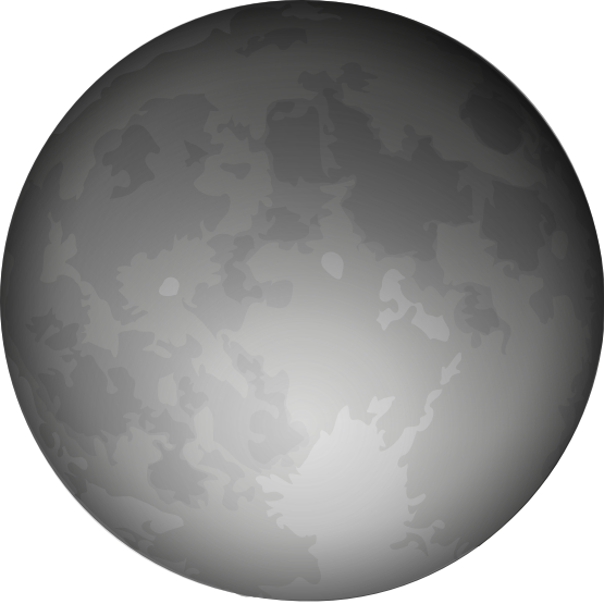 Moon clipart space #7