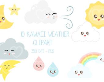 Lunar clipart kawaii Download clipart Cute Sun Clipart