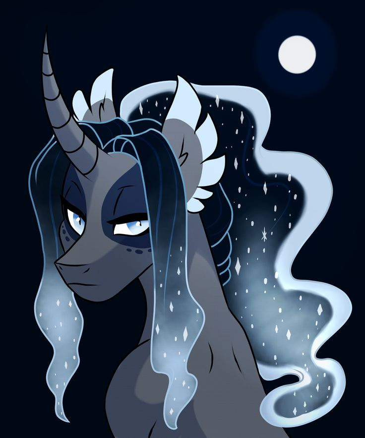 Lunar clipart late night Mlp night Pinterest on Find