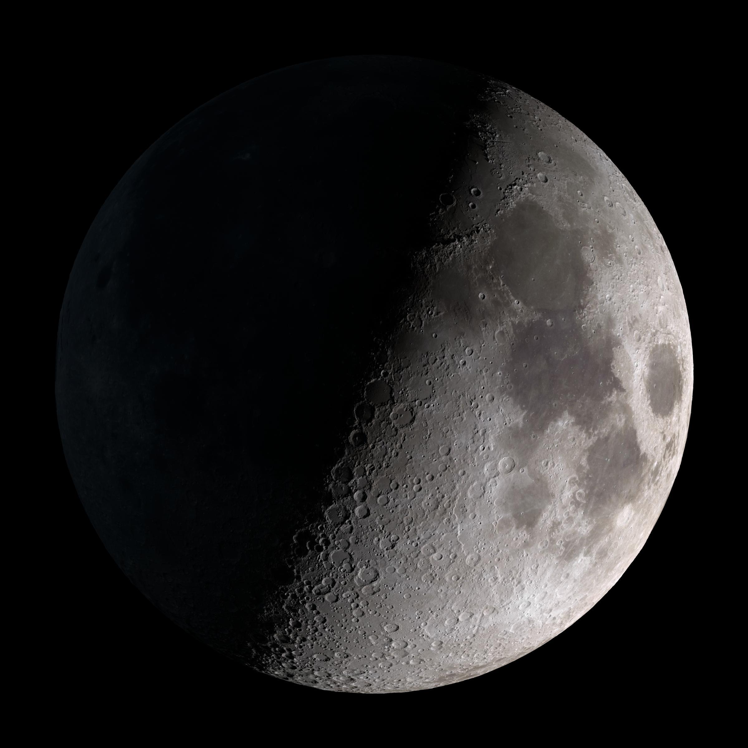 Lunar clipart quarter moon Video Quarter and Goddard jpg