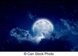 Blur clipart full moon Full and Peaceful 401; moon