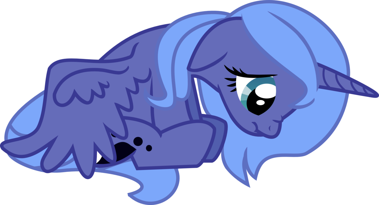 Lunar clipart sad LunarKisa Luna by LunarKisa sad