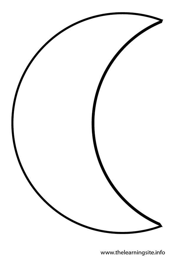 Clipart Art Clip Free Crescent