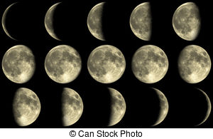 Moon clipart phase the moon #15