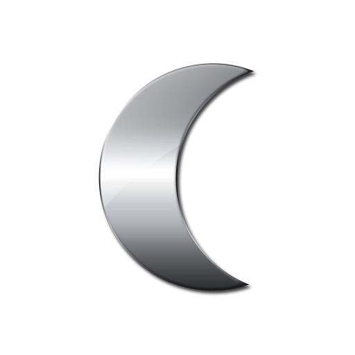 Lunar clipart silver Free Moon Icon Icons and