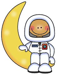 Moon clipart space #12