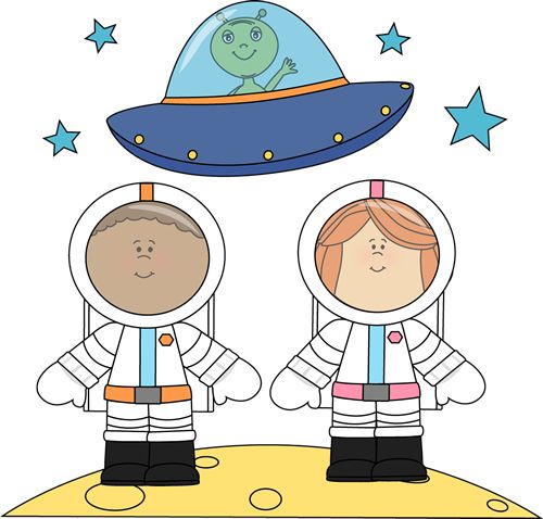 Astronaut clipart for kid Space Vesmír images com art
