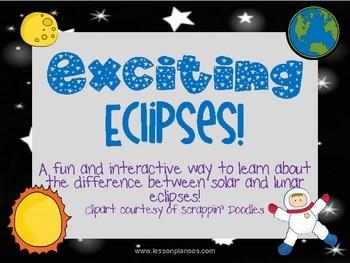 Lunar clipart teacher Between a eclipse solar interactive
