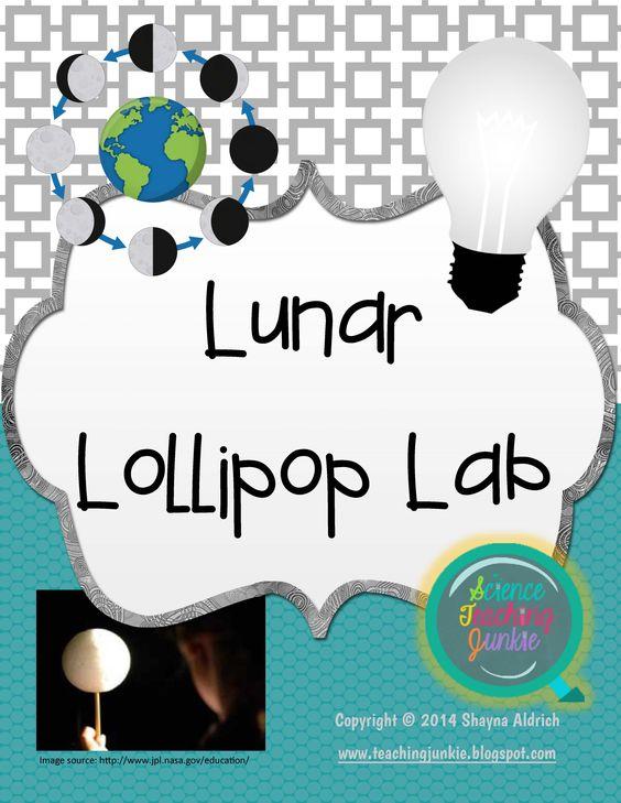 Lunar clipart teacher Lunar Lab Vetenskap Lollipop introductory