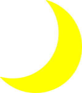 Moon clipart clear background #8