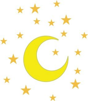Moon clipart clear background #2