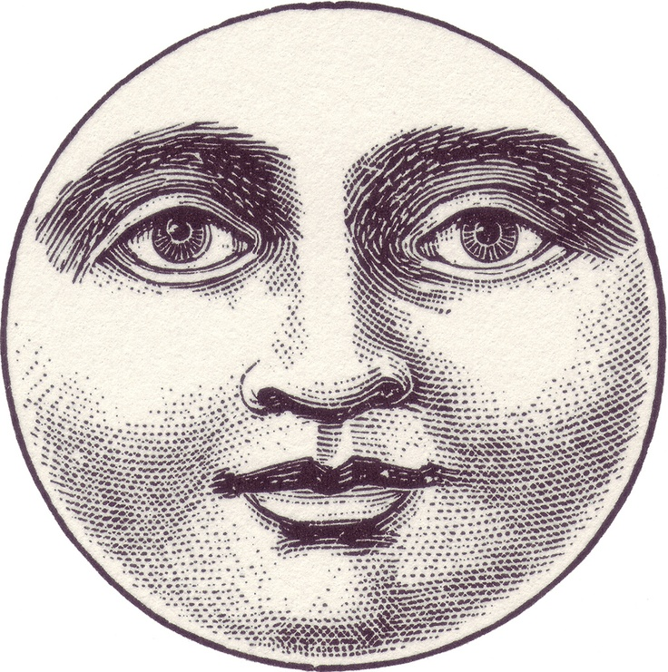 Lunar clipart victorian Face beau la To on