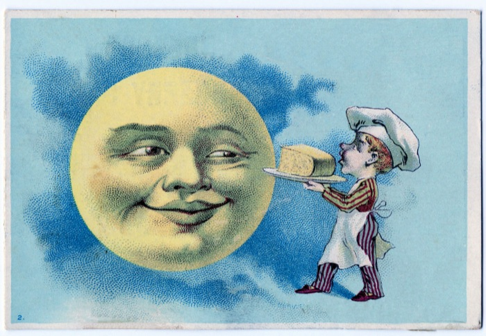 Lunar clipart victorian Cheese Graphics moon shows of